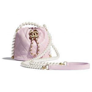 Chanel Mini Pearl Drawstring Pearl Bag - Spring 2021