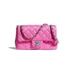 Chanel Neon Pink Mini Flap Bag - Spring 2021