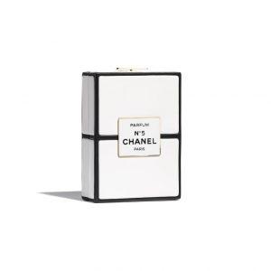 Chanel No 5 Plexi Clutch - Spring 2021
