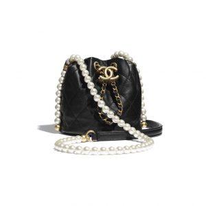 Chanel Pearl Mini Drawstring Bag - Spring 2021