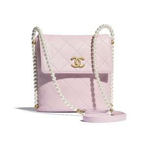 Chanel Pink Pearl Messenger Bag - Spring 2021