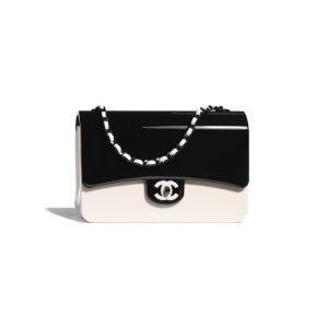 Chanel Plexi Classic Flap Bag - Spring 2021