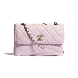 Chanel Rose Clair Trendy CC Flap Bag - Spring 2021