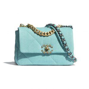 Chanel Turqoise 19 Flap Bag - Spring 2021