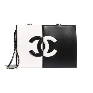 Chanel Two-Tone Clutch - Spring 2021