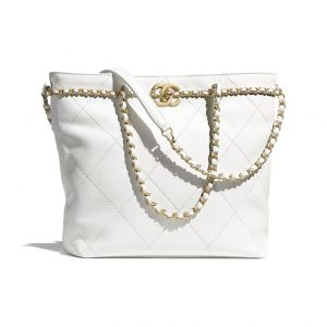 Chanel White Shopping Tote - Spring 2021