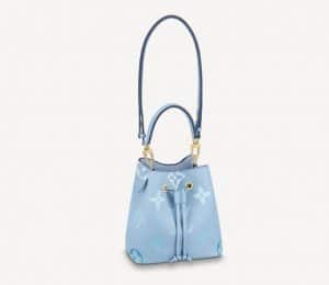 Louis Vuitton Blue Gradient NeoNoe - Summer 2021