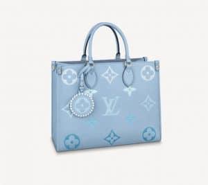 Louis Vuitton Blue Gradient OntheGo MM Bag - Summer 2021