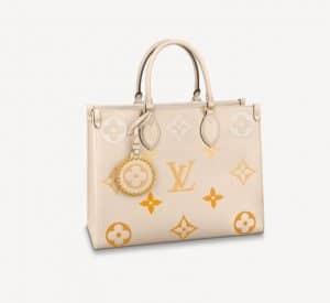 Louis Vuitton OntheGo MM Yellow Gradient - Summer 2021