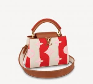 Louis Vuitton Red Capucines BB - Summer 2021