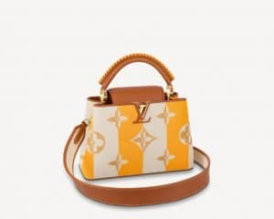 Louis vuitton Yellow Capucines BB - Summer 2021