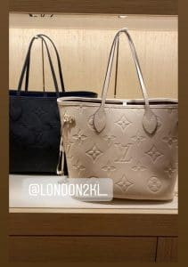 Louis Vuitton Empreinte Neverfull Bag