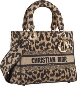 Lady Dior Dlite Leopard Print - Prefall 2021