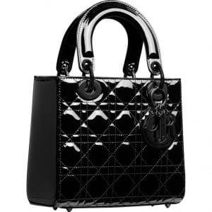 Lady Dior Patent Black - Prefall 2021