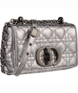 Dior Silver Caro Bag - Prefall 2021