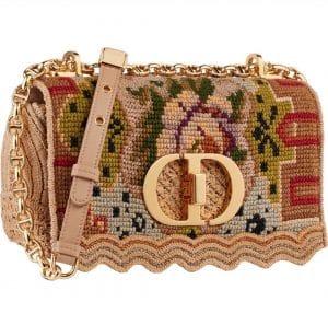 Dior Embroidered Caro Bag - Prefall 2021