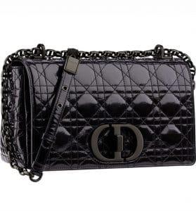 Dior Patent Caro Flap Bag - Prefall 2021