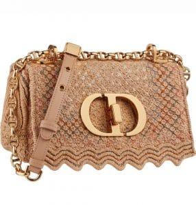 Dior Textile Caro Flap Bag - Prefall 2021