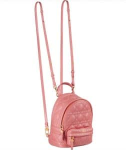 Dior Pink Cannage Backpack - Prefall 2021