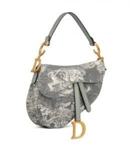 Dior Saddle with Print - Prefall 2021