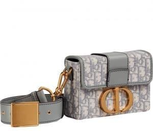Dior 30 Montaigne Box Oblique Bag - Prefall 2021