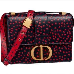 Dior 30 Montaigne Hearts Bag - Prefall 2021