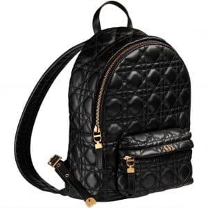 Dior Black Backpack Cannage - Prefall 2021