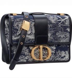 Dior Toile Print 30 Montaigne Bag - Prefall 2021