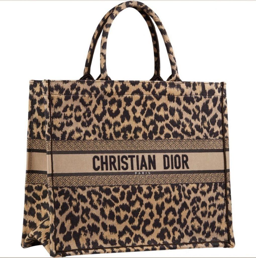 Dior Book Tote Leopard Print - Prefall 2021