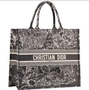 Dior Around the world Black Tote Bag - Prefall 2021