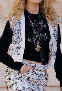Chanel Mini Bag Necklace - Cruise 2022