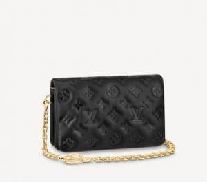 Louis Vuitton Mini Coussin Black Bag - Prefall 2021