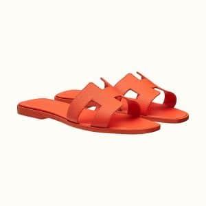 Oran Sandal Orange Poppy