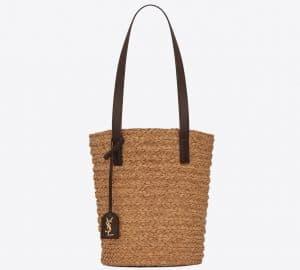 Panier Small Bag Ivory in Raffia