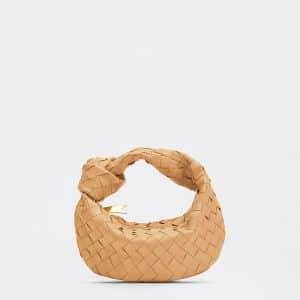 Bottega Veneta Almond Mini Jodie Bag