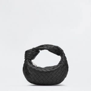 Bottega Veneta Black Mini Jodie Bag