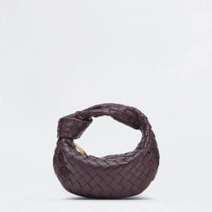 Bottega Veneta Grape Mini Jodie Bag