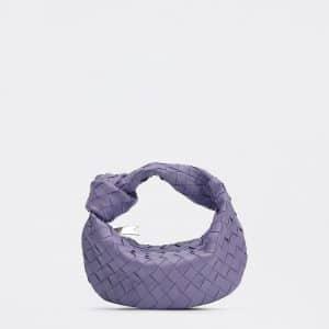 Bottega Veneta Lavender Mini Jodie Bag