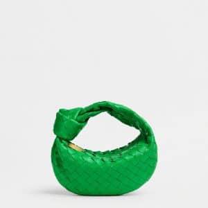 Bottega Veneta Parakeet Mini Jodie Bag