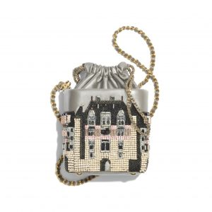 Chanel Small Bucket With Chain