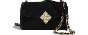 Chanel Velvet Mini Bag - Prefall 2021