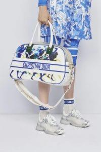 Dior Human Art Bowler Bag