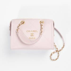 Chanel Light Purple Small Bowling Bag