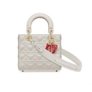 Dioramour My ABCDior Lady Dior Bag White