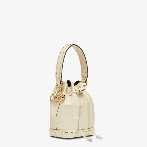 Fendi White Mon Tresor Bag