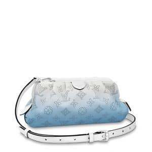 LV Blue Mini Pochette Scala